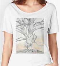 Camiseta ancha Árbol de elefante