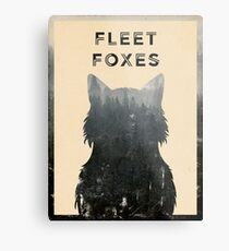 Fleet Foxes Metal Print