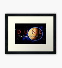 Dune 2 (Genesis Title Screen) Framed Print
