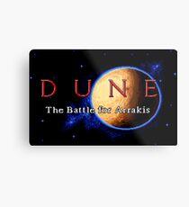 Dune 2 (Genesis Title Screen) Metal Print