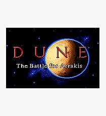Dune 2 (Genesis Title Screen) Photographic Print