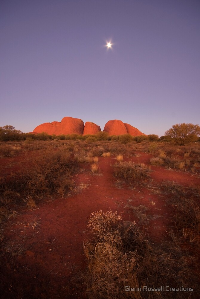 The Olgas by Glenn Russell Creations
