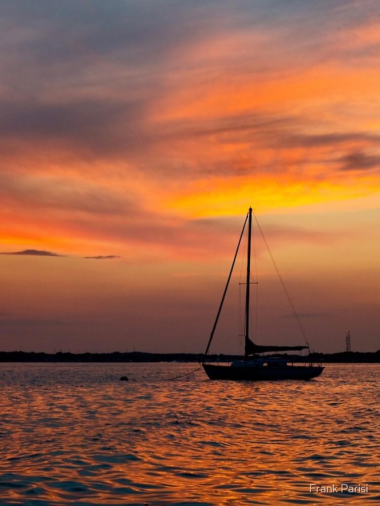Serene sunset by fparisi753
