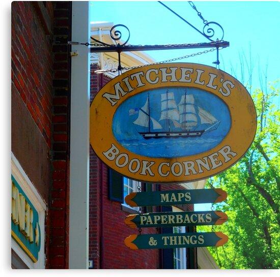 Nantucket Island Streets by Marielle Valenzuela