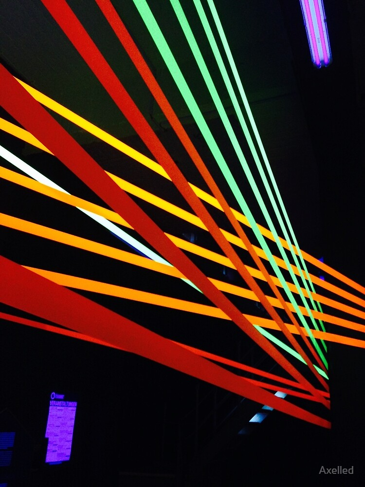 Neon lines  by Axelled