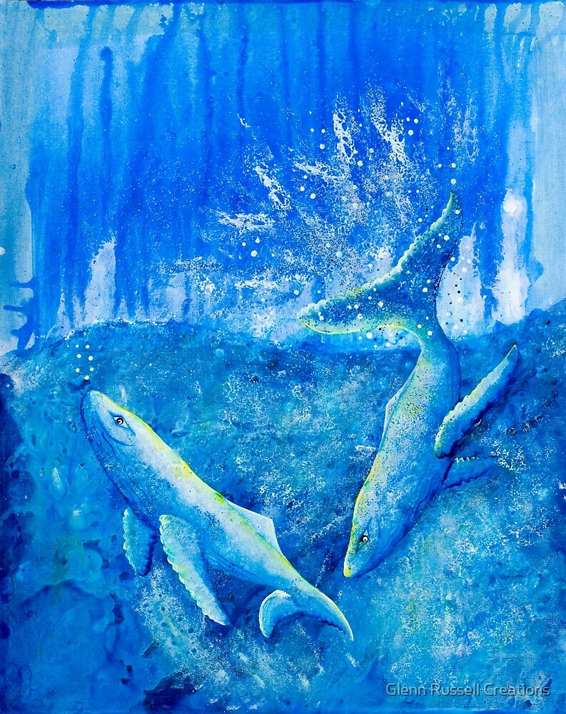 Whales by Glenn Russell Creations