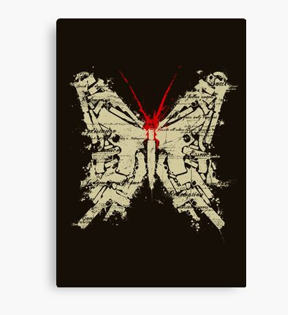 Deadly Species - Butterfly Canvas Print