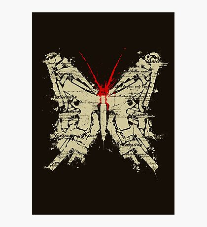 Deadly Species - Butterfly Photographic Print