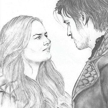 Emma and Killian (Captain Swan) by Emilie2199