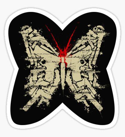 Deadly Species - Butterfly Sticker