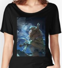 Horo the Wise Wolf Women's Relaxed Fit T-Shirt