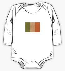 Irish flag   Globetrotter One Piece - Long Sleeve