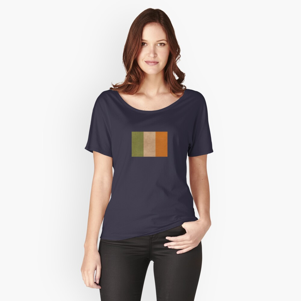 Irish flag | Globetrotter Relaxed Fit T-Shirt