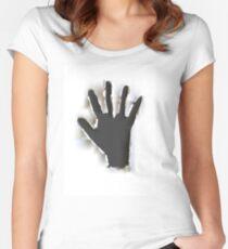 Handprint Women's Fitted Scoop T-Shirt