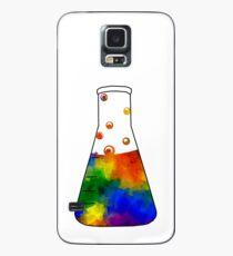Rainbow Erlenmeyer Case/Skin for Samsung Galaxy