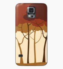 Sepia forest Case/Skin for Samsung Galaxy