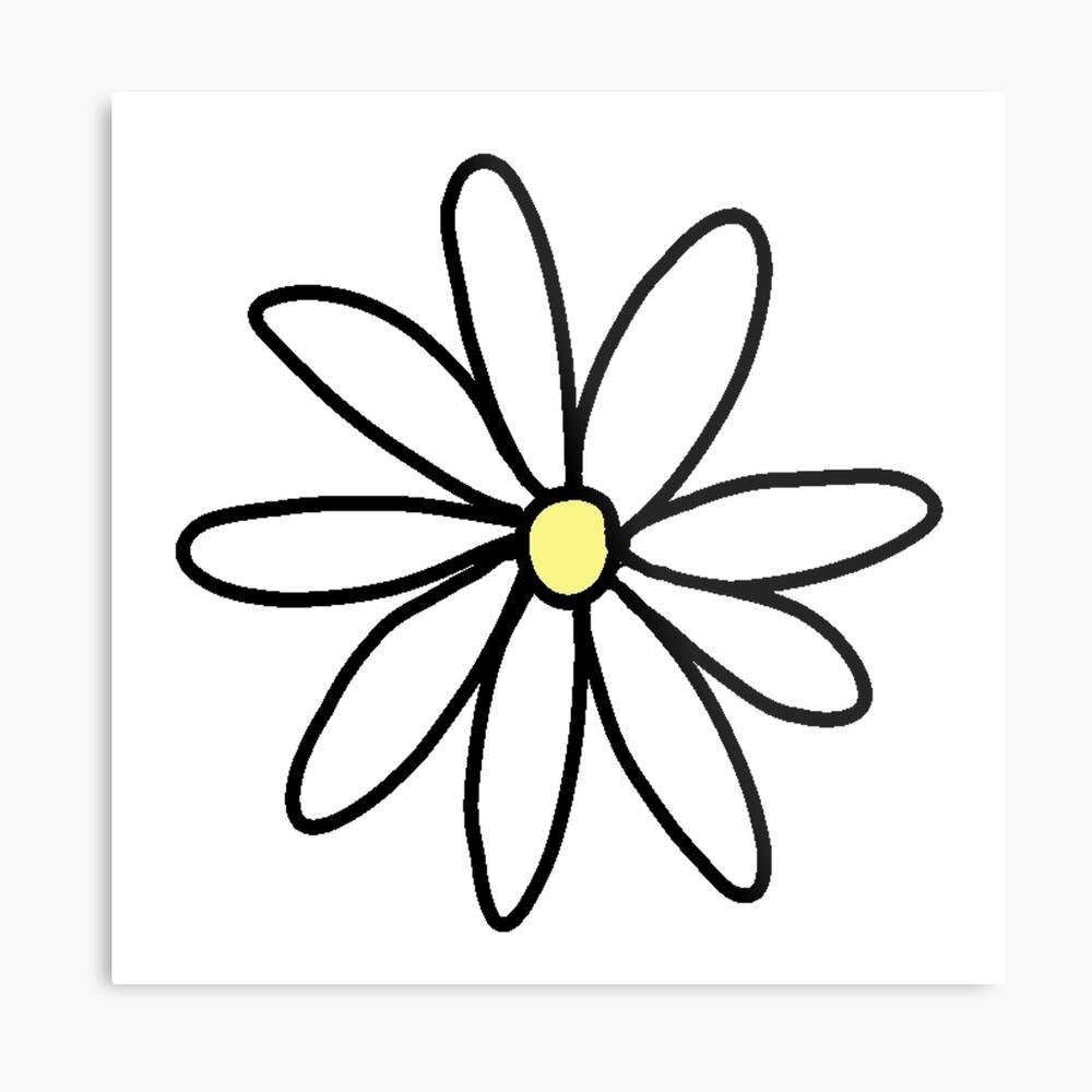tumblr daisy Lámina metálica