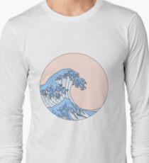 aesthetic wave Long Sleeve T-Shirt