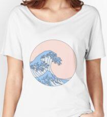 ästhetische Welle Baggyfit T-Shirt
