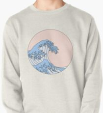 aesthetic wave Pullover