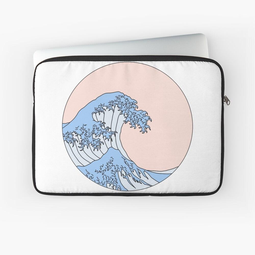 ästhetische Welle Laptoptasche