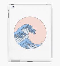 ästhetische Welle iPad-Hülle & Skin