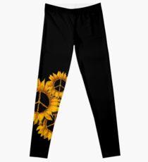 Sunflower Peace Leggings