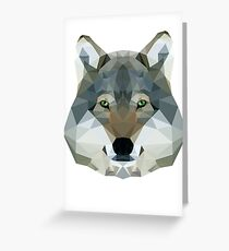 The Wolf of the North Greeting Card