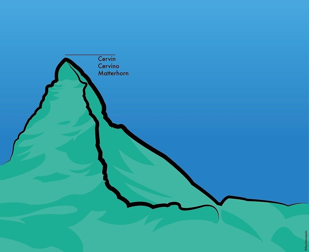 Matterhorn by hennequintheo