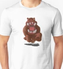 Hyper Hippo on the Charge T-Shirt