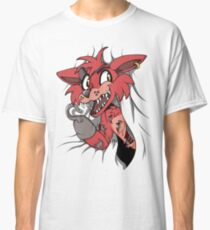 Foxy in the Curtain Classic T-Shirt