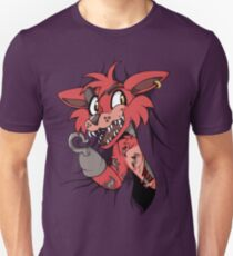 Foxy in the Curtain Unisex T-Shirt