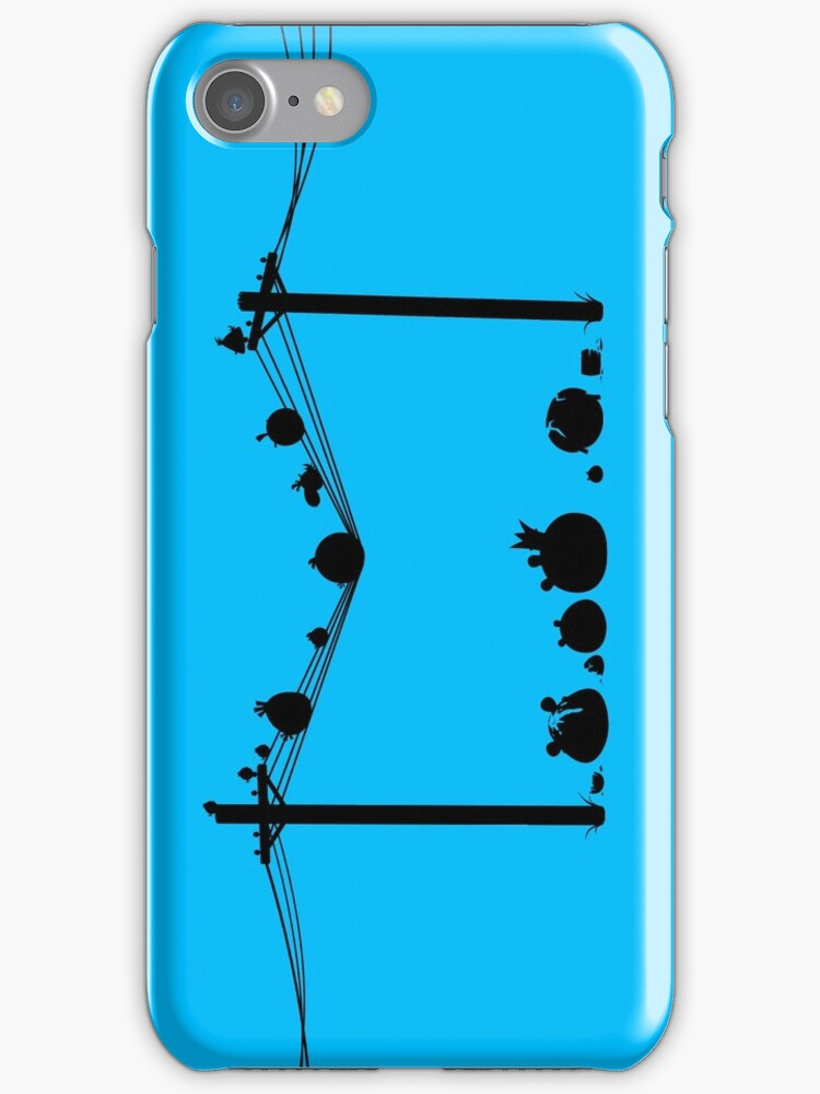 Angry Birds on a wire by R-evolution GFX