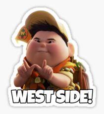 Russel West Side Sticker