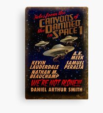 Tales from the Canyons of the Damned in Space Canvas Print