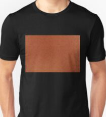 Orange iridescent cardboard texture Unisex T-Shirt