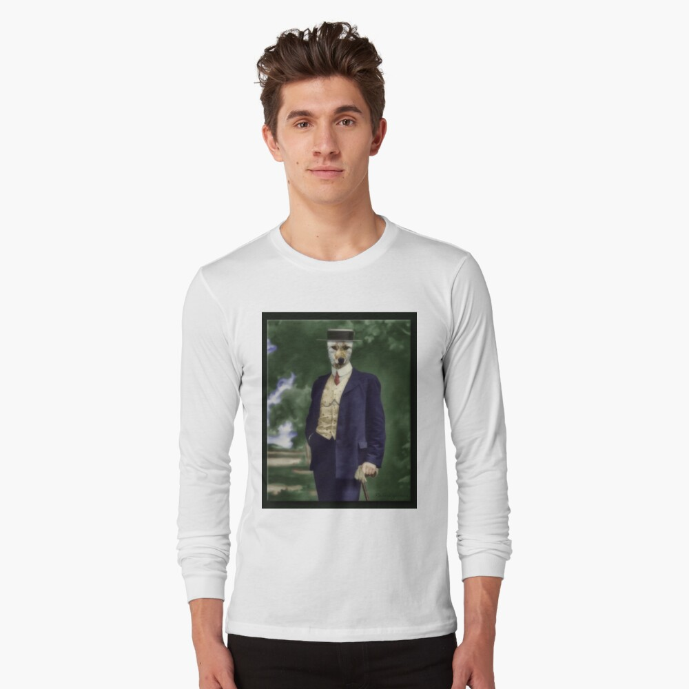 The Gentleman Mr. Wiley Long Sleeve T-Shirt Front