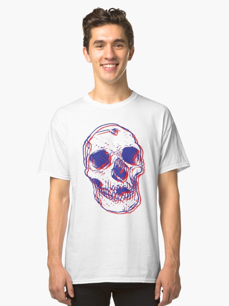 New Skull Classic T-Shirt Front