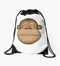 Meh Monkey Drawstring Bag
