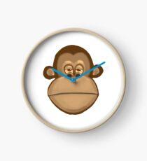 Meh Monkey Clock
