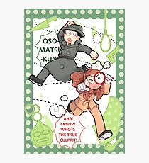 Calming Detective Osomatsu! Photographic Print