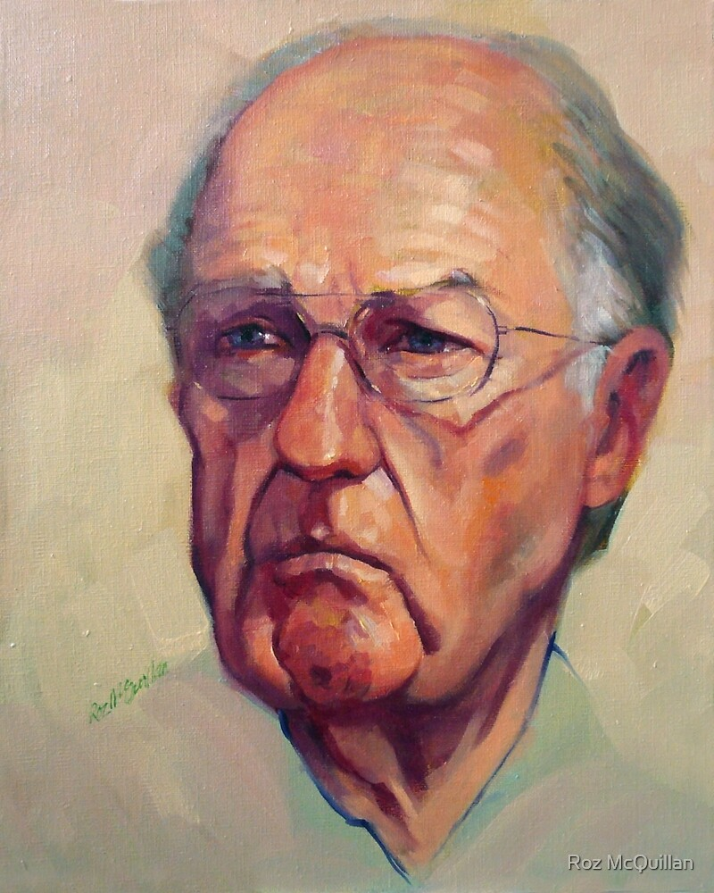Portrait of Fred by Roz McQuillan