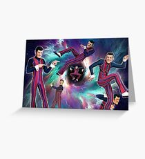 Robbie Rotten Rules the Universe Greeting Card