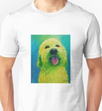 Shaggy Dog in Yellow T-Shirt