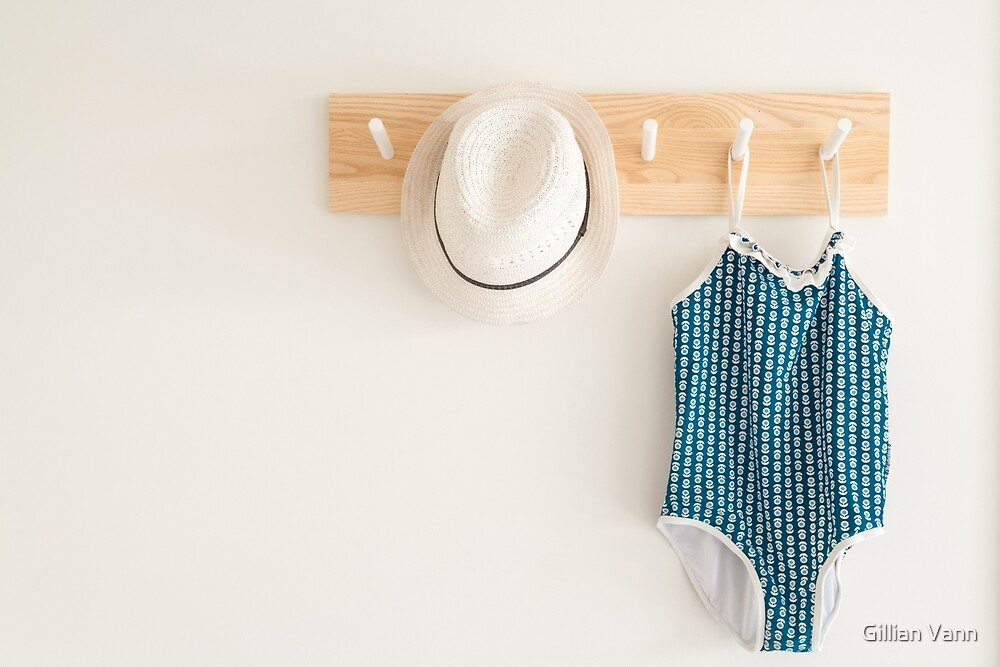 hat and swimmers   by Gillian Vann
