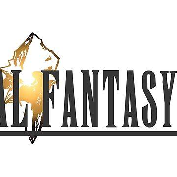 Final Fantasy 9 Logo by MaxiPower
