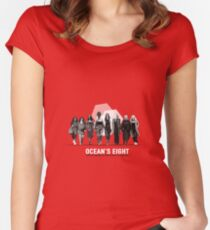 Ocean's Eight Women's Fitted Scoop T-Shirt