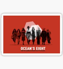Ocean's Eight Sticker
