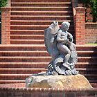 Cherub And Fish by Cynthia48