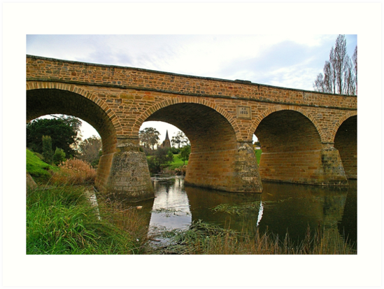 Richmond Bridge, Tasmania by Paul Gilbert